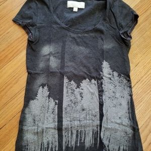 Tops - Charcoal Forest Graphic Tee